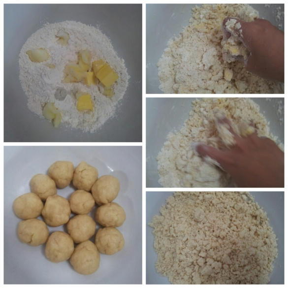 Making the Curry Puff skins