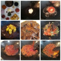 Daging masak Hitam (Beef in black sauce)