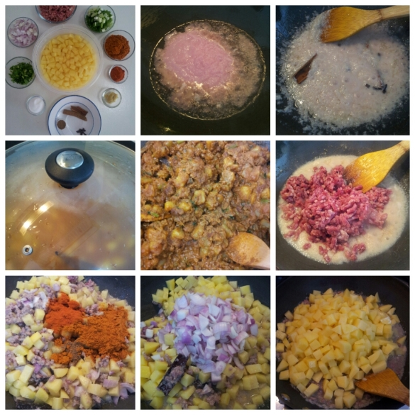 Making potato filling