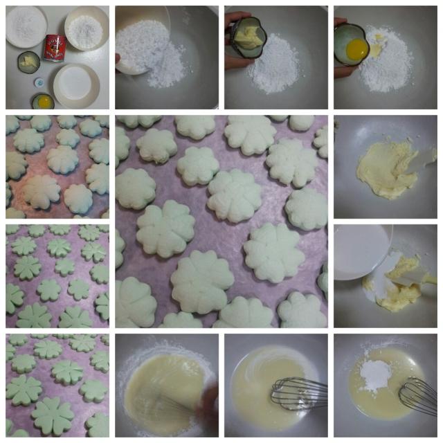 Making Kueh Bangkit