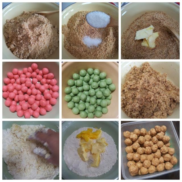 Making Kueh Makmur