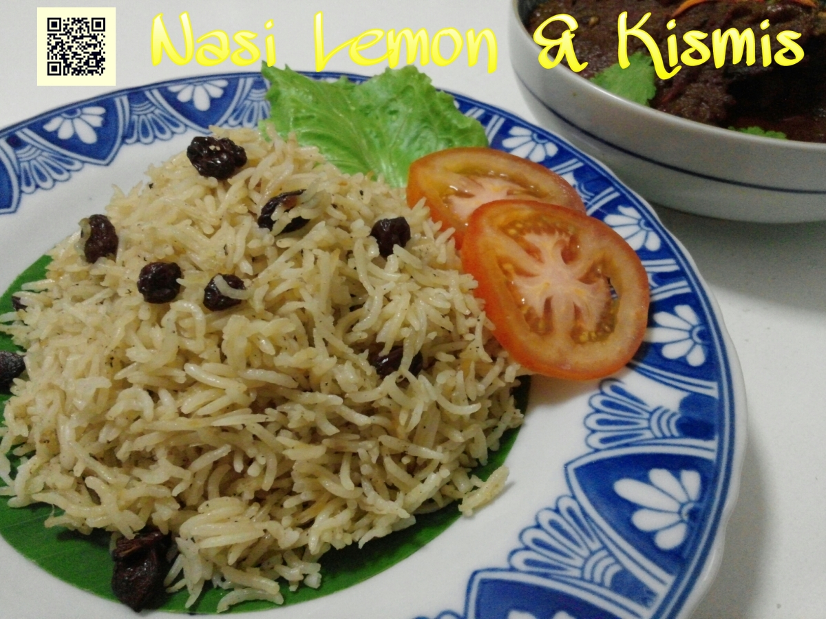 Nasi Lemon dan Kismis (Lemon and Raisin Rice)